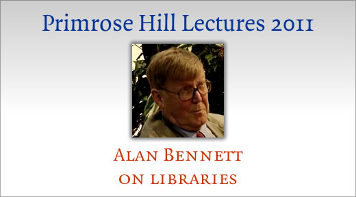 Alan Bennett on public libraries